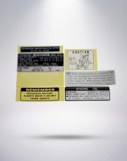Caution Stickers (Honda Official)